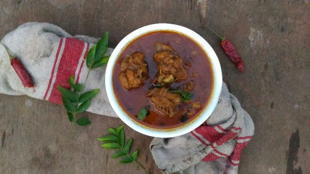 Pallipalayam Chicken curry